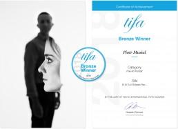 2018 - Tokyo International Foto Awards - 3rd Place (Bronze Winner) in FineArt-Portrait Category - OLA+LUKASZ by Piotr Musial
